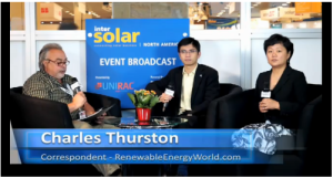 Ginlong Interview by Renewable Energy World at Intersolar North America